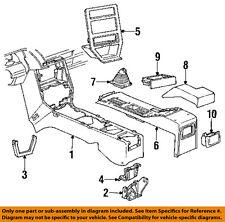 Chevrolet GM OEM 88-90 Cavalier Floor Console-Console 22555522