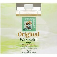 Clean+Easy Original Wax Refill Large 12 pack