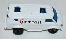 1979 Matchbox Superfast White Comcast Chevy Van, Made in China