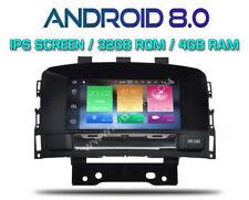 "AUTORADIO 8"" IPS hd ANDROID 8.0 OctaCore 4GB-32GB OPEL ASTRA J / DSP DAB OBD ..."