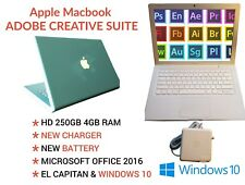 2009 Clean Fast Macbook New Capitan OSX Setup Fully Loaded CS6 & Lots of Extras