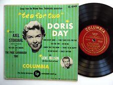 "DORIS DAY Tea for two 10"" LP Columbia 6149 pop vocal 1950 Soundtrack Musical"