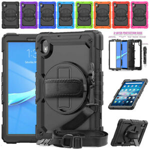Shockproof Hybrid Rugged Case Screen Cover for Lenovo Tab M8 /M10 /M10 FHD Plus