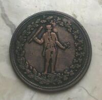 Canada 1/2 Half Penny Token - Pure Copper Preferable to Paper