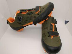 Fizik Terra X5 Volume Control Mountain Bike Shoe US 8.25/ EU 41 - Green/Orange