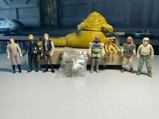 Vintage Star Wars 'Complete Jabba The Hutt Playset' + Extra ROTJ Action Figures