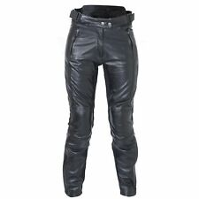 RST 1946 Kate Motorcycle Bike Leather Jeans CE Armoured Knees SIZE 16 NEW