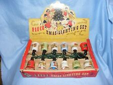 Pifco Vintage Christmas Tree Decoration Lights Bulbs Lamps Fairy Lights Working