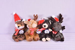 """Spot Holiday Pets 13.5"""" Furzz Squeaky Dog Toy Assorted Styles"""