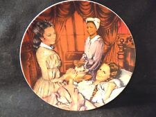 """GONE WITH THE WIND VINTAGE COLLECTOR PLATE """"MELANIE GIVES BIRTH"""""""