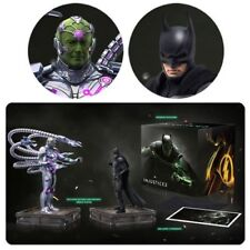 DC Comics ~ Injustice 2 ~ The Versus Collection ~ BATMAN and BRAINIAC Statue Set