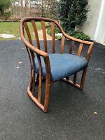 Edward Wormley For Drexel Mid Century Rosewood Club Chair