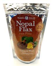 Pineapple Nopal Flax Linaza Plus Adelgazante (454g) 100% Natural