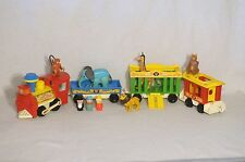 Vintage Fisher Price Little People Circus Train #991 Set Complete!!!