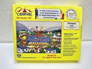 IHC Carnival Octopus & Platform Ride Kit 5124 w/ Deluxe Motor 5155