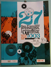 27th ANNUAL SF INTERNATIONAL LESBIAN & GAY FILM FESTIVAL poster 2003 Frameline