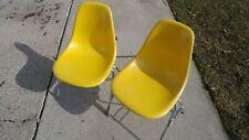 Original Vintage Eames Herman Miller Dss Side Chair Fibreglass Shell Mid Century