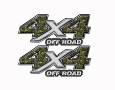 4X4 OFF ROAD Decals Fishing Camo CRAPPIE FISH in Camouflage Truck BedMK167OR4
