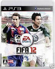 Used PS3 FIFA 12 SONY PLAYSTATION 3 JAPAN JAPANESE JAPONAIS IMPORT