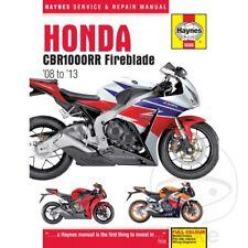 Honda CBR 1000 RR Fireblade 2011 Haynes Service Repair Manual 5688