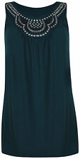 Women's Sleeveless Vest Top, Strappy, Cami Tops & Shirts