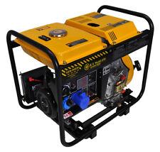 Generatore di corrente diesel 6 kw - gruppo elettrogeno avviamento elettrico-man