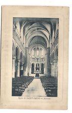 cany église de saint-saens  intérieur