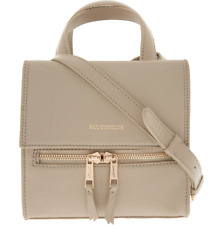 Paul Costelloe Beige Leather Cross Body Bag The Mini Gia Womens GIFT