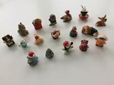17 Vintage Hallmark Christmas Merry Miniatures