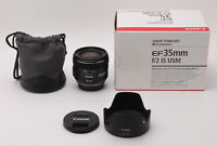Canon EF 35mm f/2 IS USM Wide Angle Lens Free Shipping #653