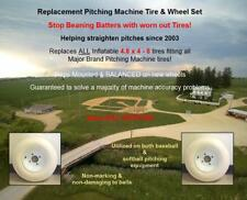 pitching machine tire mounted on a balanced wheel Same Day Shipping!