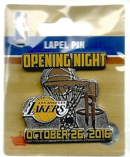 NBA Los Angeles Lakers vs Houston Rockets Opening Night October 26, 2016 Pin NIP