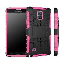 Coque Arrière Hybride Rose Couverture pour Samsung Galaxy Note 4 SM-N910