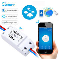 Sonoff-ITEAD Smart WLAN Drahtlos Wireless Switch Modul Fernbedienung Steckdose