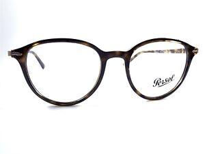 NEW Persol 3169-V 1054 Men's Dark Havana Rx Eyeglasses Frames 50/19~145 Italy