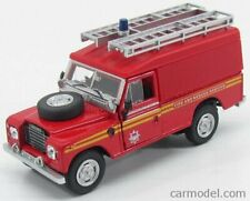 Hongwell 251xnd11 scala 1/43 land rover iii series 109 fire and rescue 1961