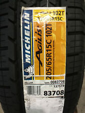 1 New 205 65 15 Michelin Agilis 6 Ply Commercial Tire