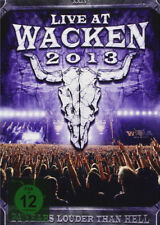 Live at Wacken 2013 DVD (2014) cert E 3 discs ***NEW*** FREE Shipping, Save £s