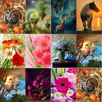 5D DIY Full Drill Diamond Painting Cross Stitch Embroidery Mosaic Wall Art Kits