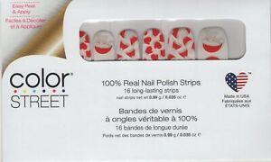 CS Nail Strips Just Be-Clause Holiday 2020 100% Nail Polish - USA Made!