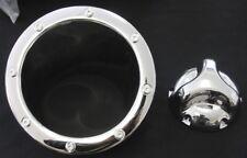 Chrome Bouchon De Réservoir + bordure pour hummer h2 2 pces