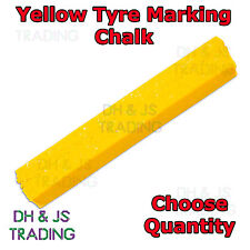 Yellow Tyre Chalk Wax Marker Markers Tire Tyre Crayon Repair Marking Chalk