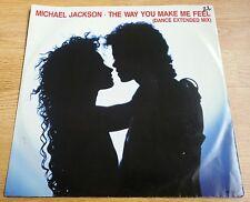 "The Way You Make Me Feel - Michael Jackson (1987) - rare vinyl record 12"" single"