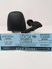Selway Quick Detach Recurve Bow Quiver w/Plastic Hood