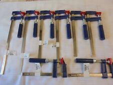 8 STÜCK SCHRAUBZWINGEN-ZWINGEN-LEIMZWINGEN-KNECHTE- je 2 x150/200/250/300 x 50mm