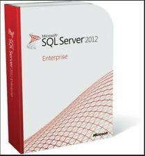 SQL Server 2012 Enterprise Product Key License MS Unlimited CPU Cores & CALS