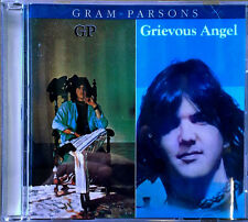 GRAM PARSONS - GP & GRIEVOUS ANGEL - REPRISE  - 2 ALBUMS ON 1 CD