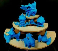 RARE 6 MINI RUBBER KINKESHI KESHI MONSTER HUNTER FIGURE CAPCOM SET NO. 2
