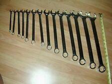 "14 Pcs BONNEY Utica B-80710 Combination Wrench Set Tool USA 3/8""- 1-1/4"""