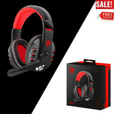 Wireless Gaming Headset w/ Microphone Headphones Surround For PC Laptop Computer
